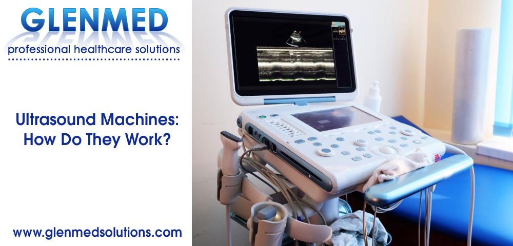 Ultrasound machine in doctors room